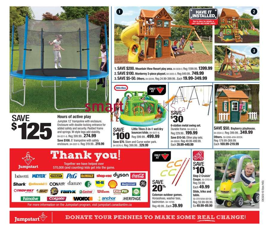 Canadian Tire Flyer May To Jun