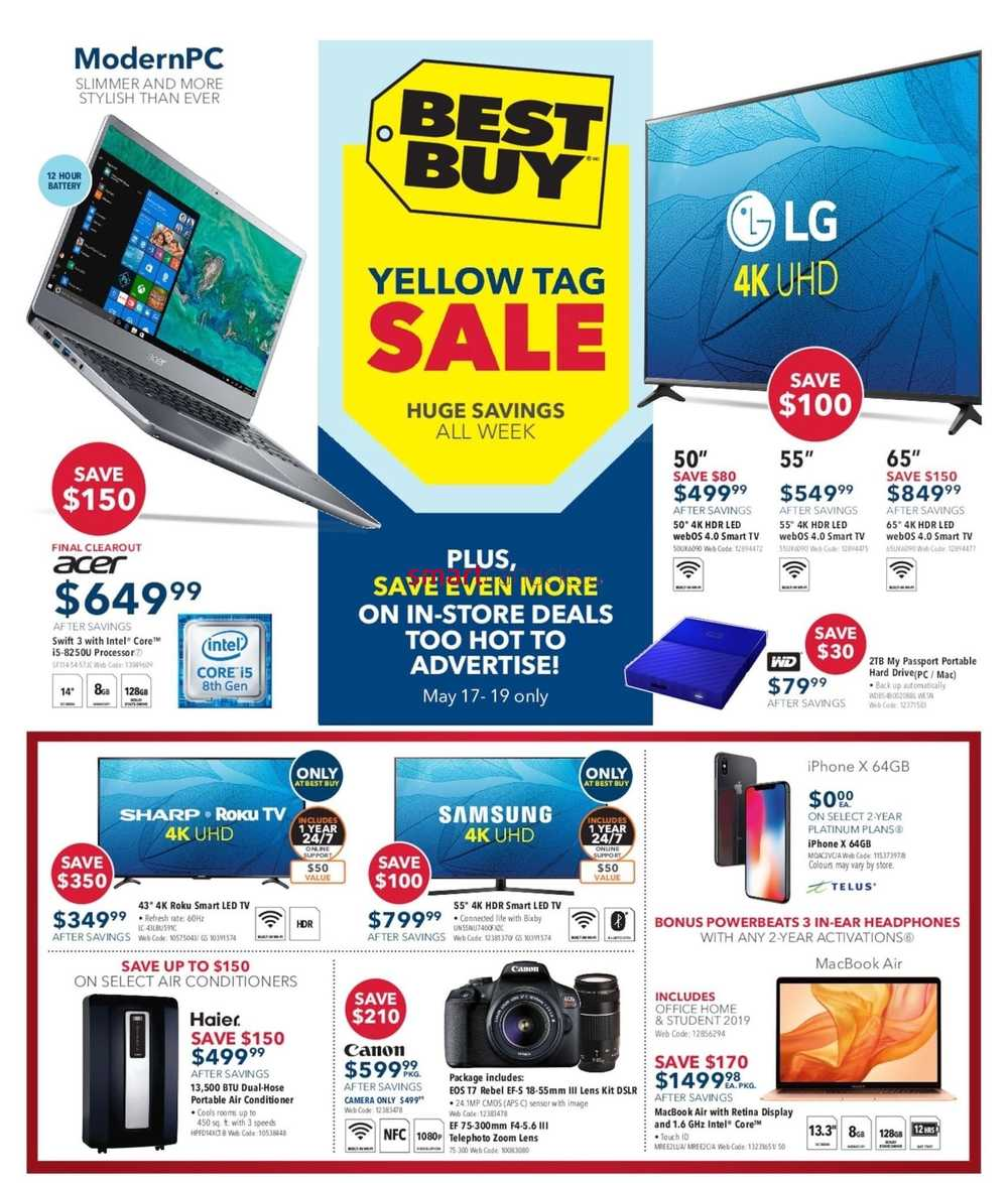 c21ede7d008 Best Buy Flyer May 17 to 23