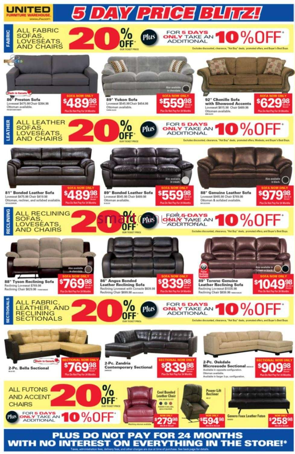 United Furniture Warehouse Flyer May 30 To Jun 3