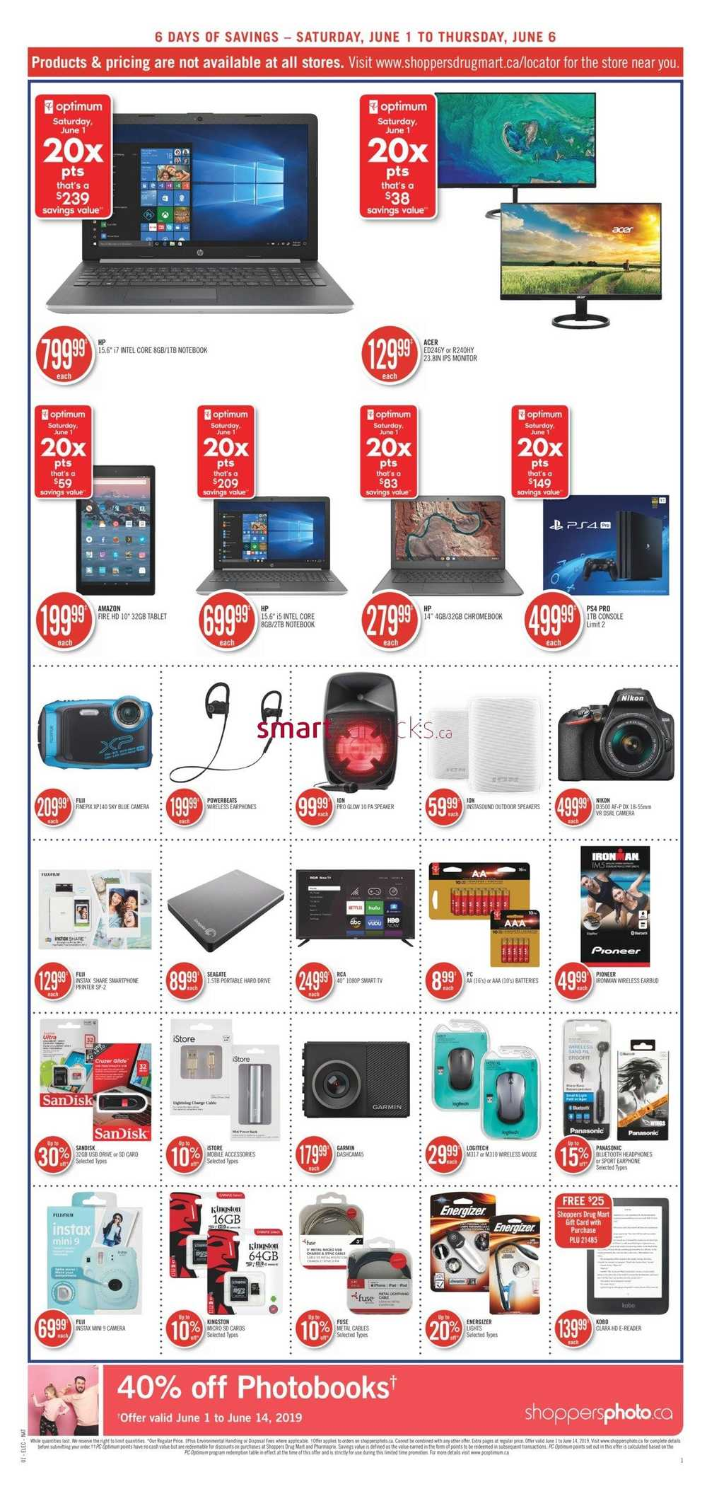 Shoppers Drug Mart (ON) Flyer June 1 to 6 | Shoppers Drug