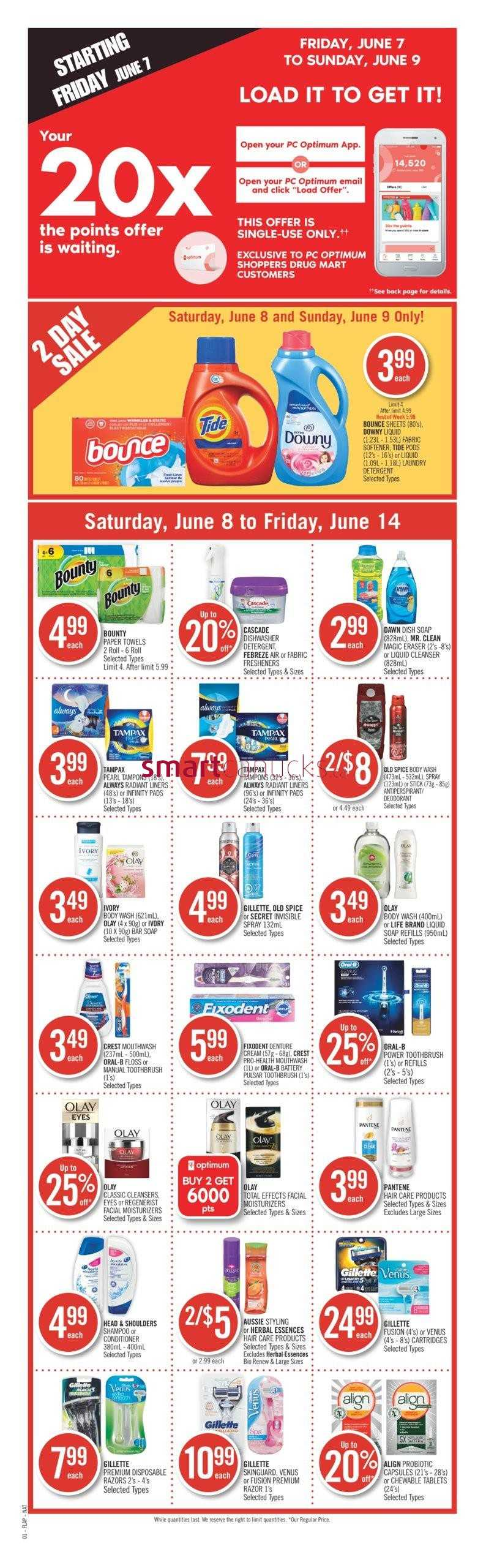 Shoppers Drug Mart Canada Flyers