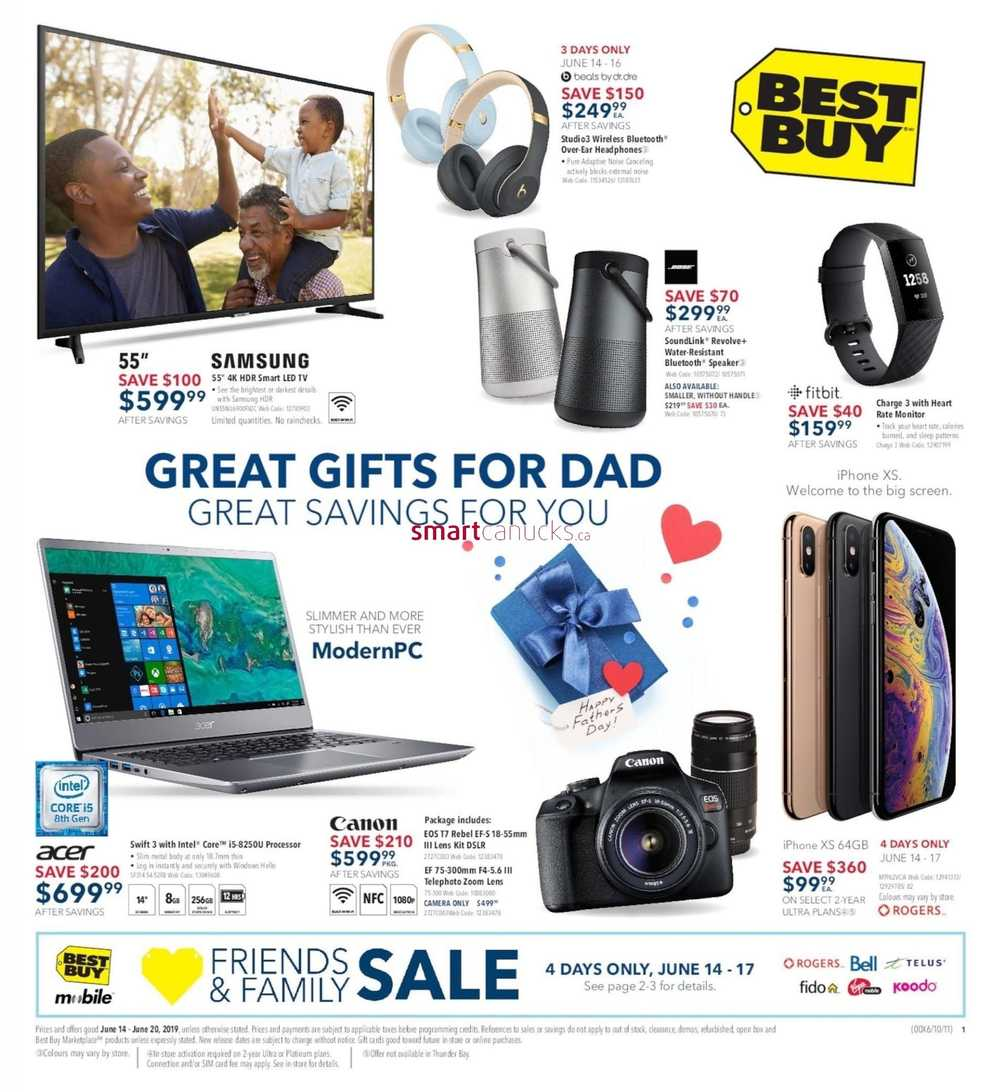 c4b5934cbc0 Best Buy Flyer June 14 to 20