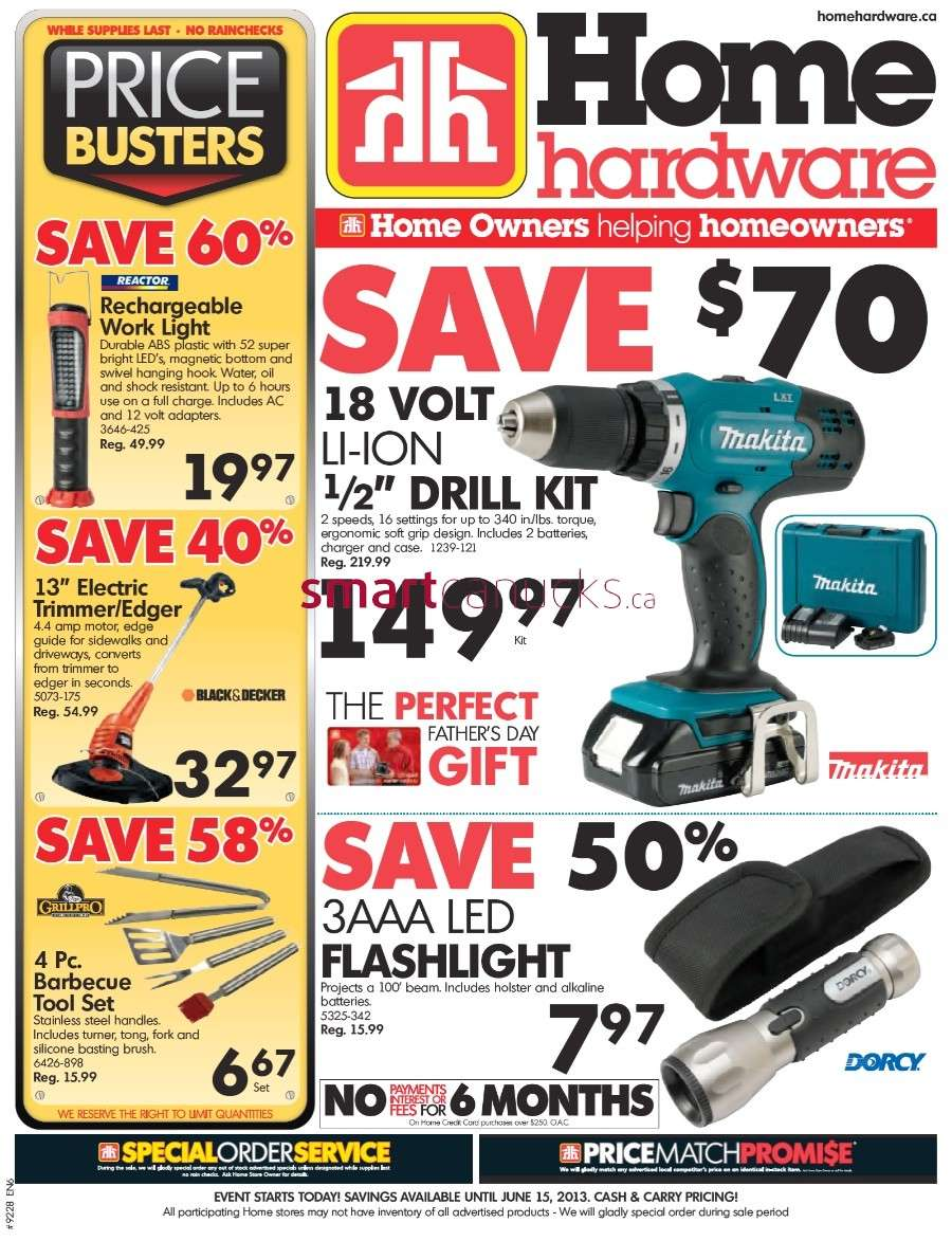 Home Hardware Foyer : Home hardware flyer jun to