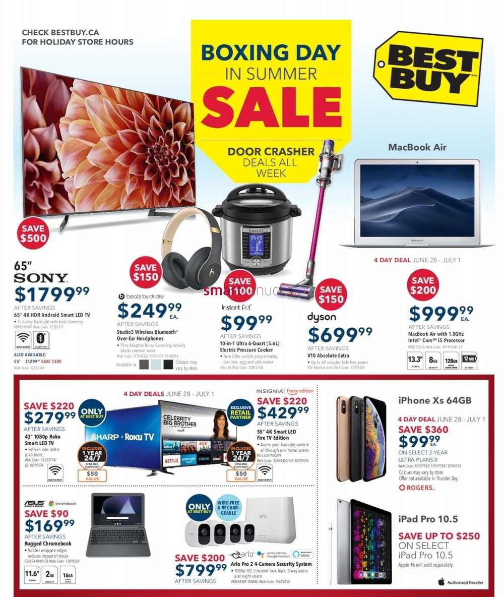 e713c3d6fbc Best Buy Flyer June 28 to July 4