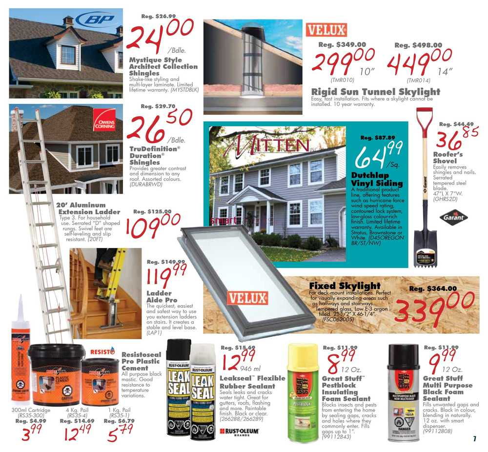 COPP's Buildall Flyer July 12 to 21