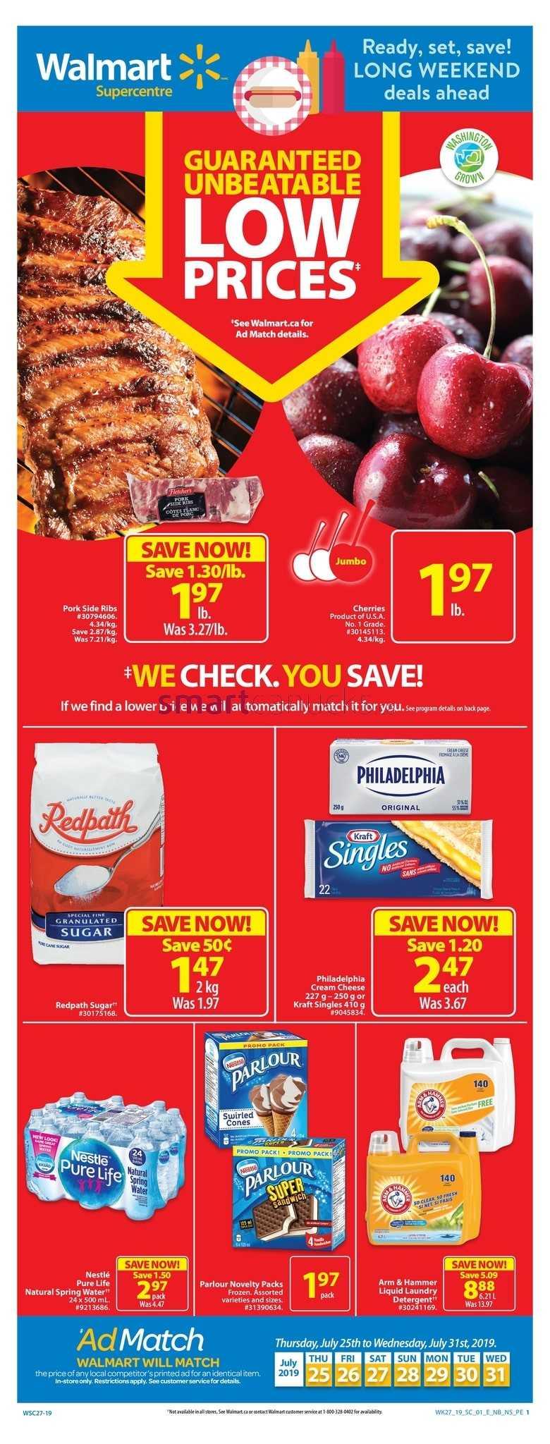 Walmart Canada Flyers