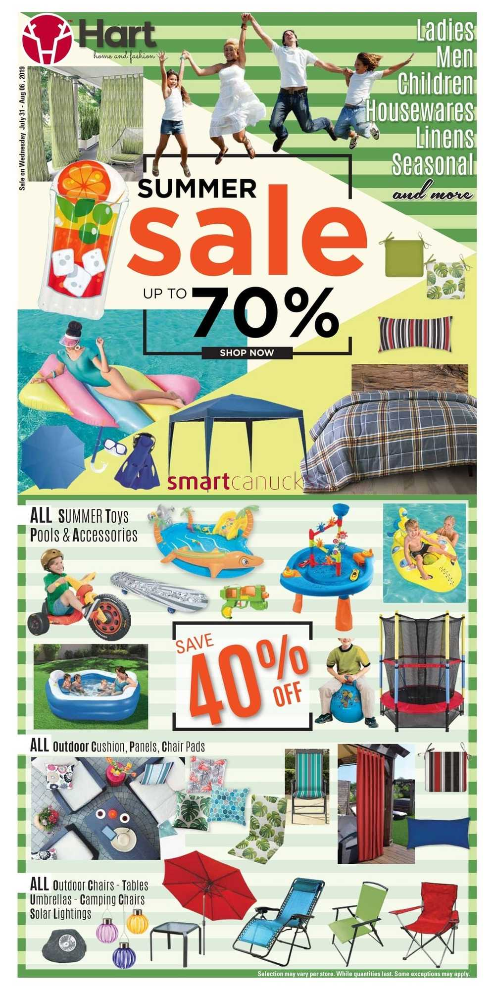 Hart Stores Canada Flyers