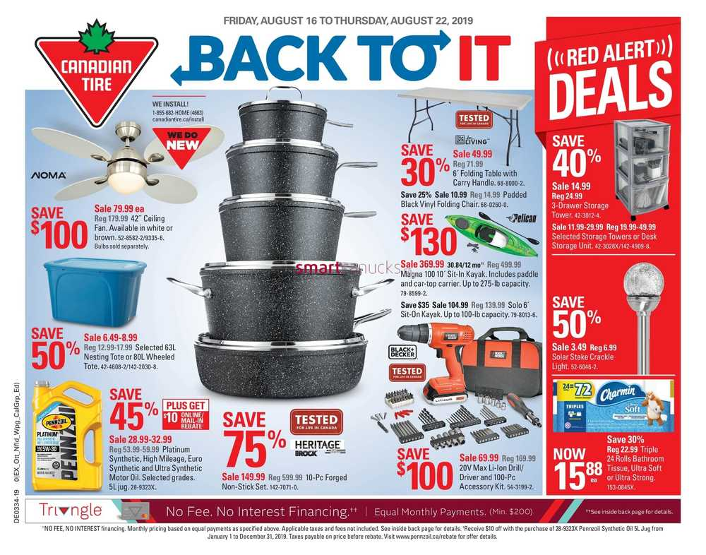 Canadian Tire Canada Flyers
