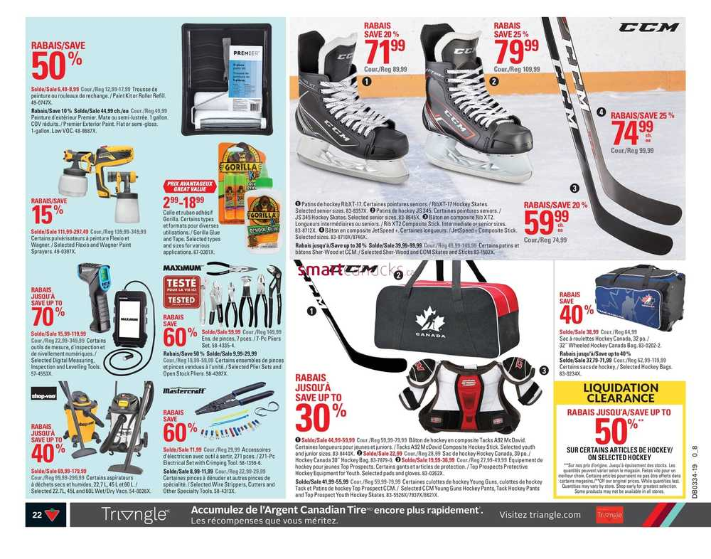 Canadian Tire (QC) Flyer August 15 to 21