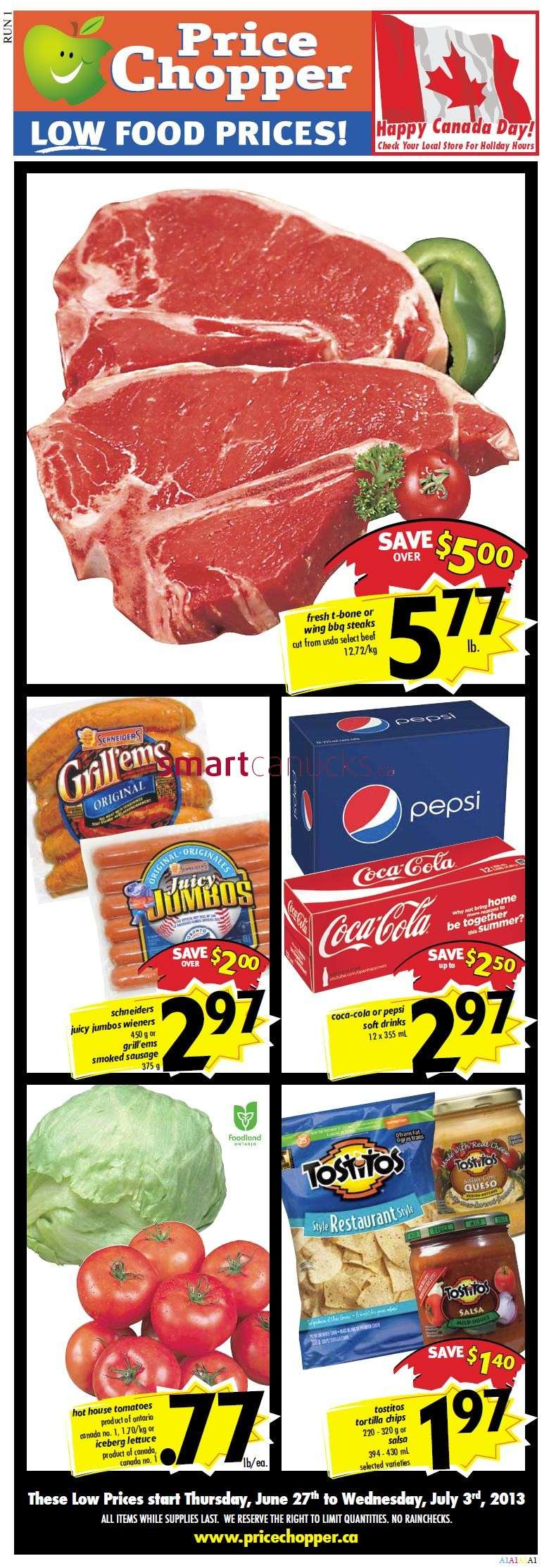 Price Chopper Flyer Jun 27 To Jul 3