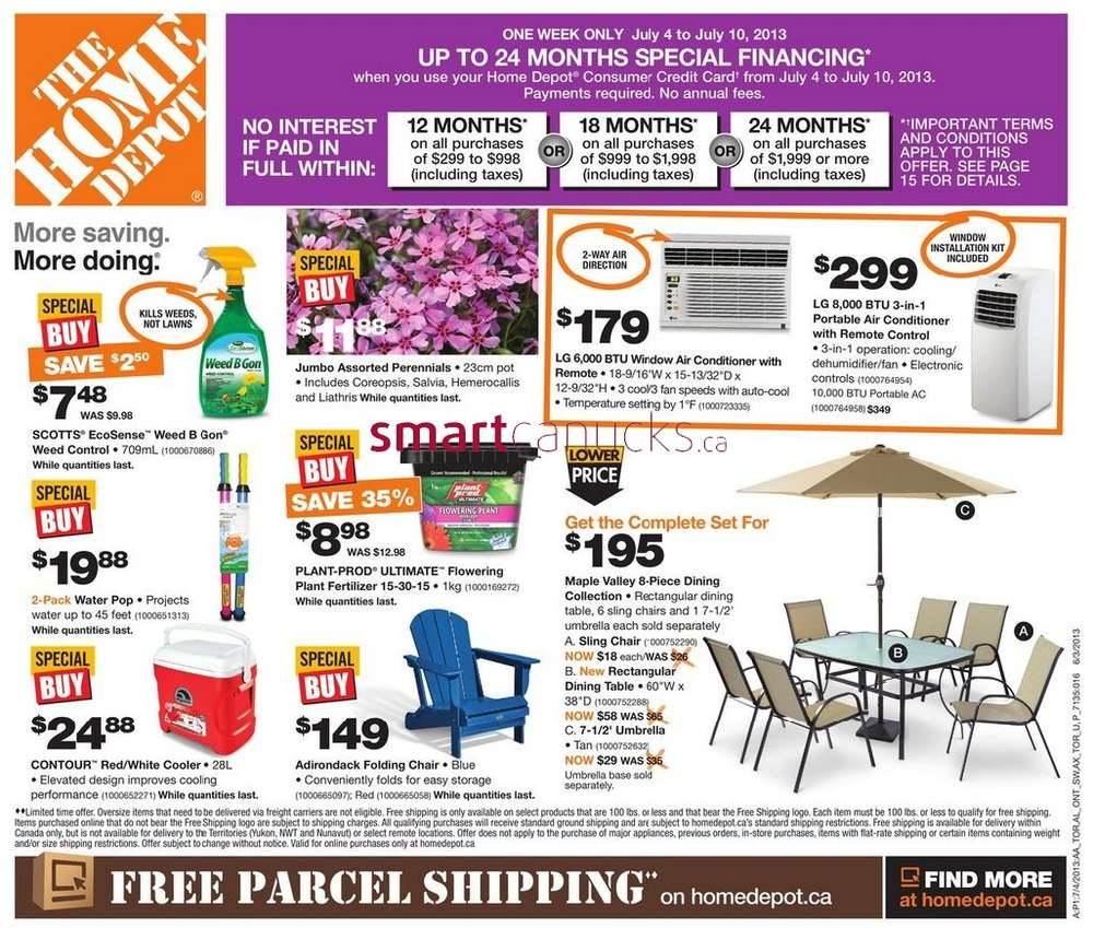 Most Home Depot stores are open on the 4th of July this year and most should operate on normal store hours. If you're still dubious though, you can call your local store just to be sure.