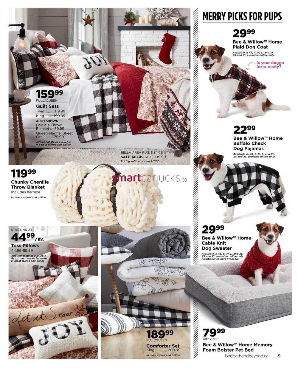 Bed Bath Beyond Flyer November 17 To January 6