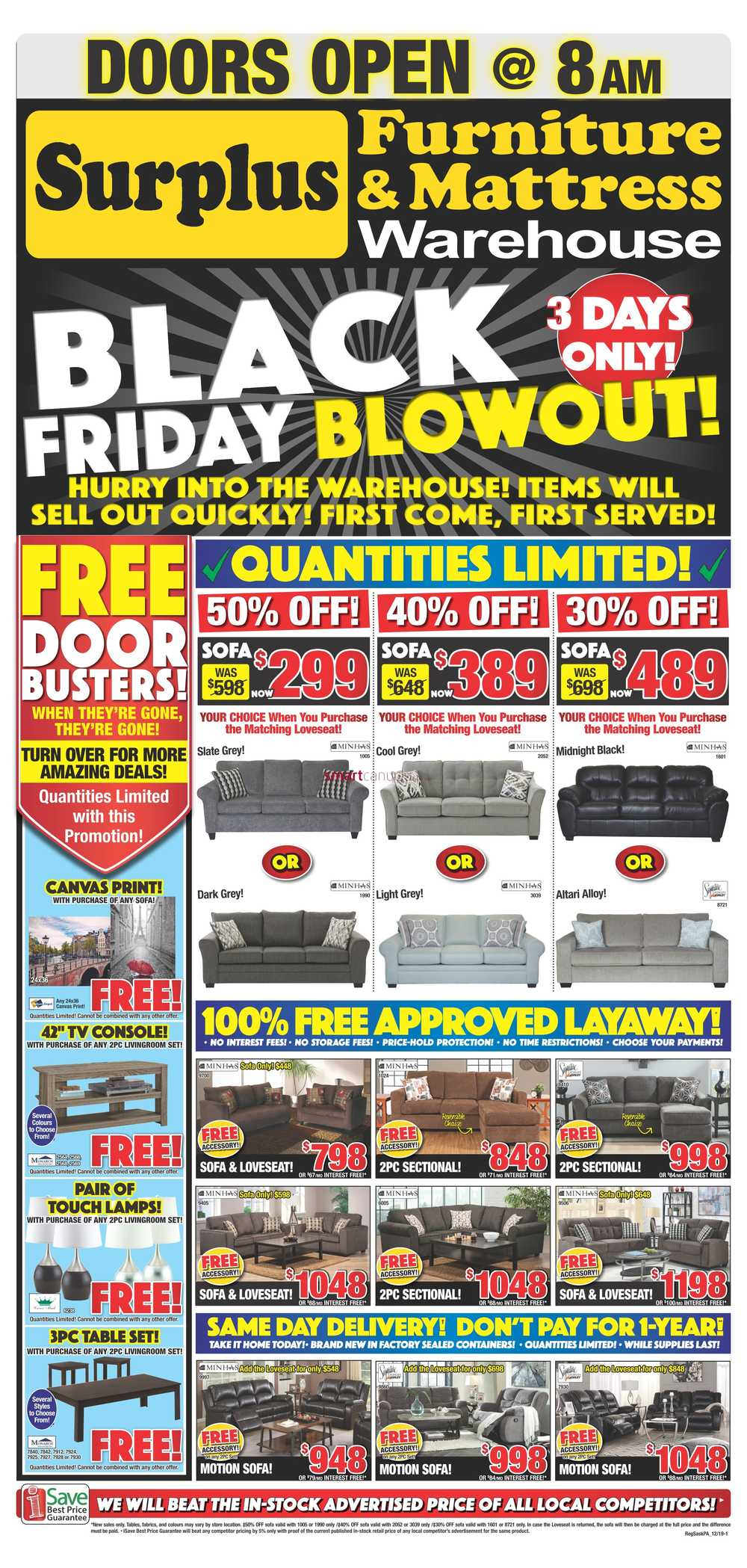 black friday furniture regina