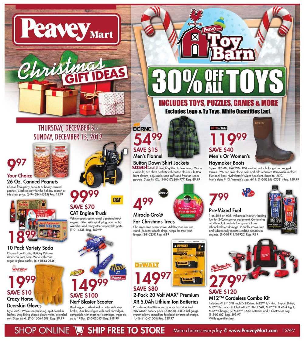 Peavey Mart Canada Flyers