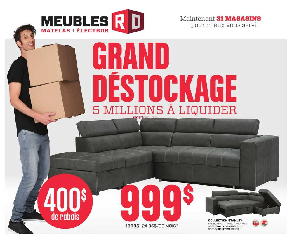 Meubles Rd Flyer January 6 To 26