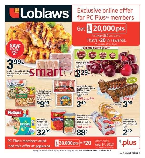 Loblaws Grocery Flyer Ontario
