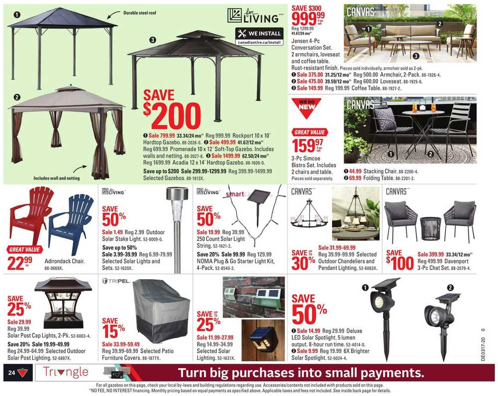 - Canadian Tire (ON) Flyer April 17 To 23