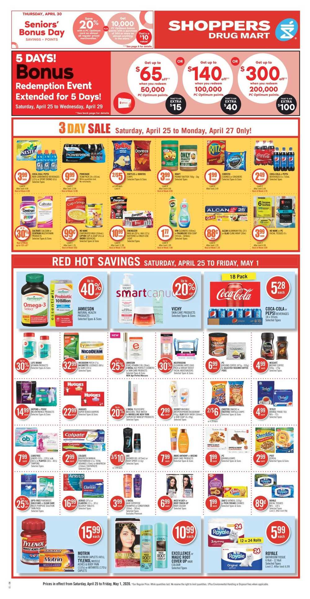 Shoppers Drug Mart On Flyer April 25 To May 1