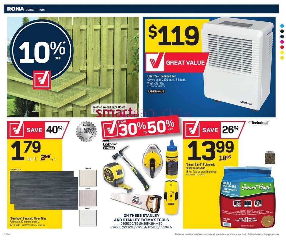 rona flyer august 7 to 13