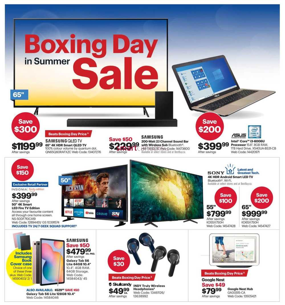 June 2020 Best Buy Flyer