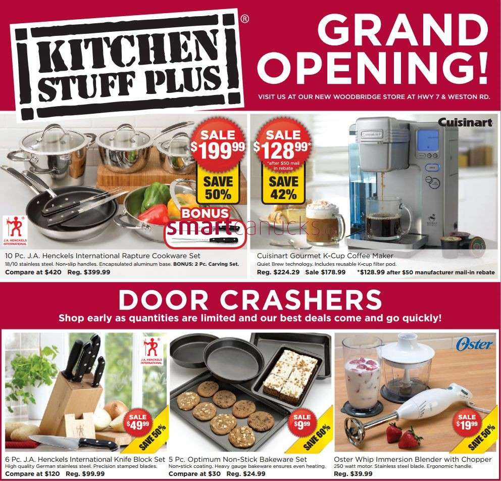 Kitchen Stuff Plus Warehouse Sale November