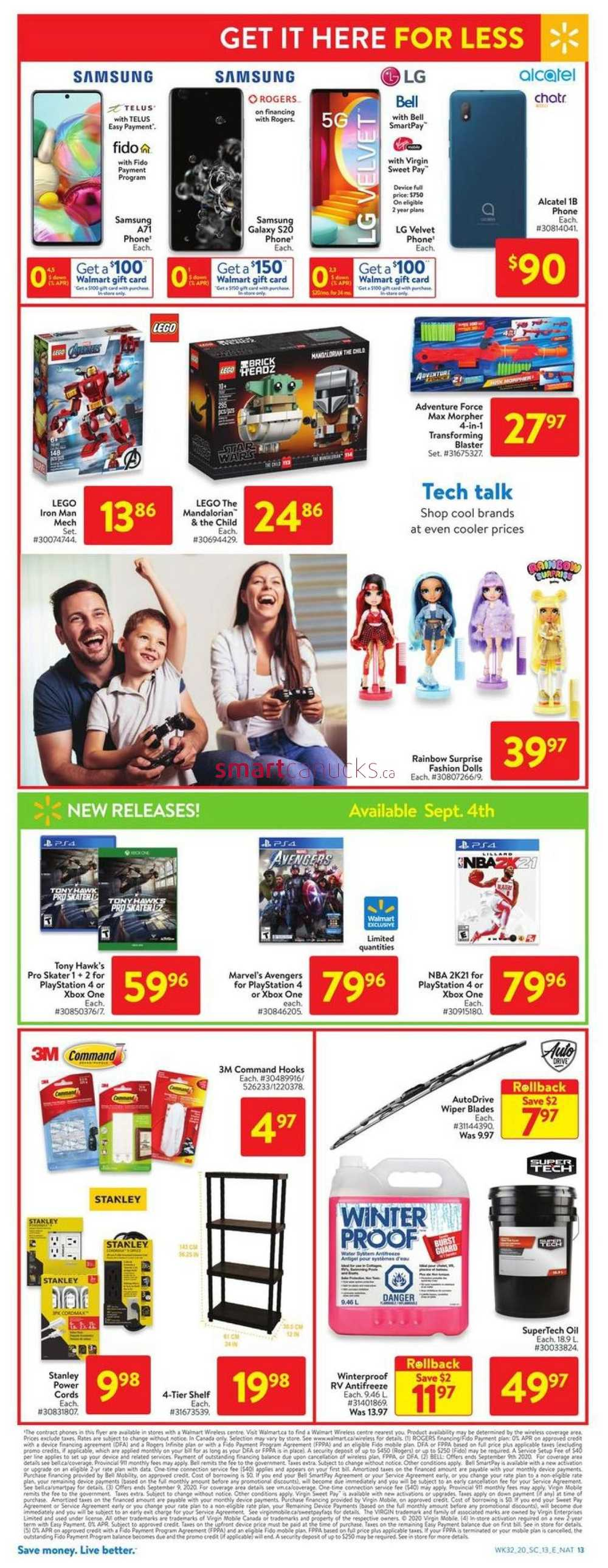 Walmart On Flyer September 3 To 9 Walmart Canada Flyers Coupons Sales