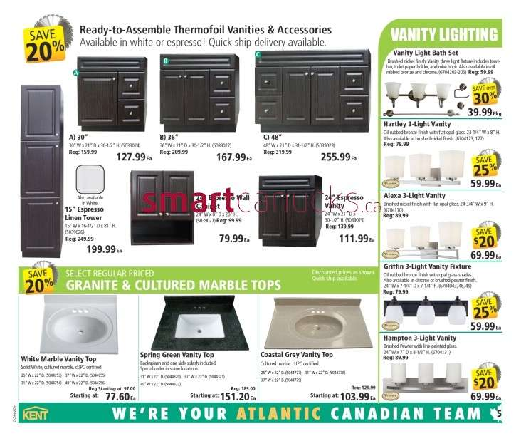 More kent building supplies flyers