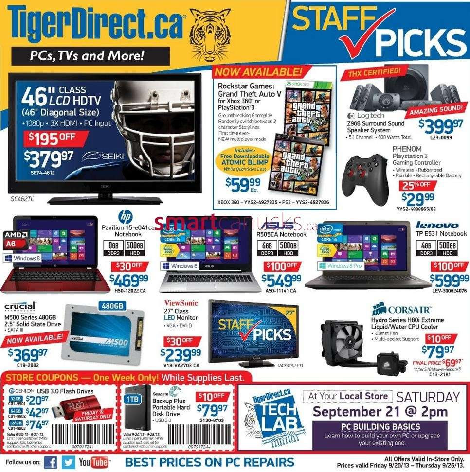 Newegg Canada is focused on incubating great deals on computers, tech gear, and electronics. The US-based company offers a big and frequently changing selection of new and refurbished PC systems, laptops, and portable devices plus parts and kits to build your own computer.