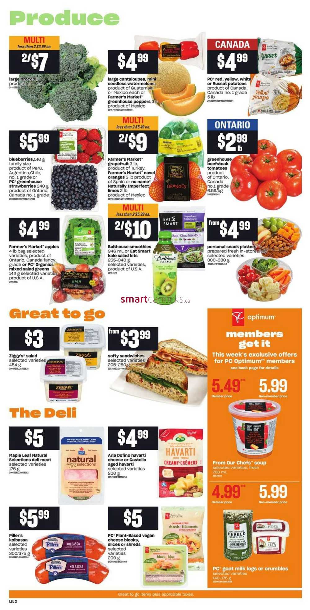 Loblaws Grocery Flyers & Coupons   Loblaws Grocery Flyers ...