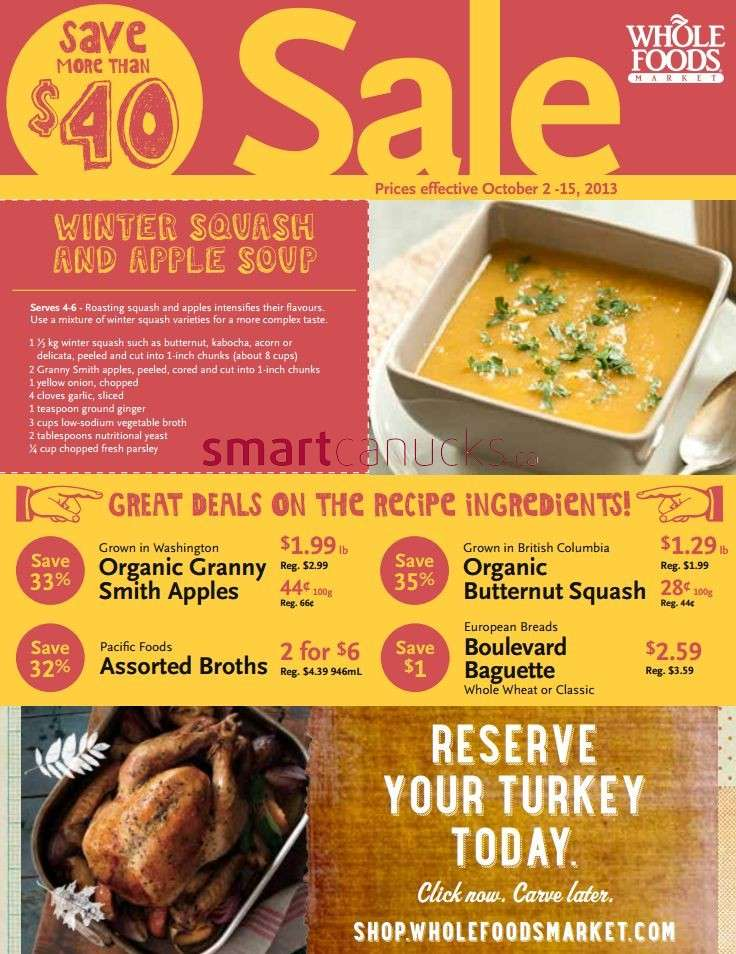 Whole Foods Market Flyer