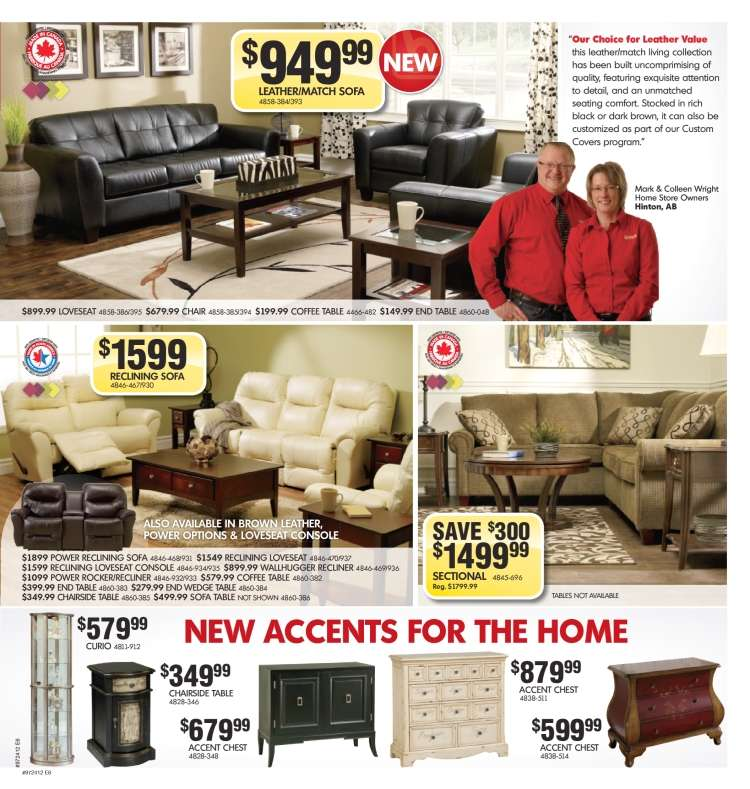 Home Furniture Flyer May 30 To Jun 10
