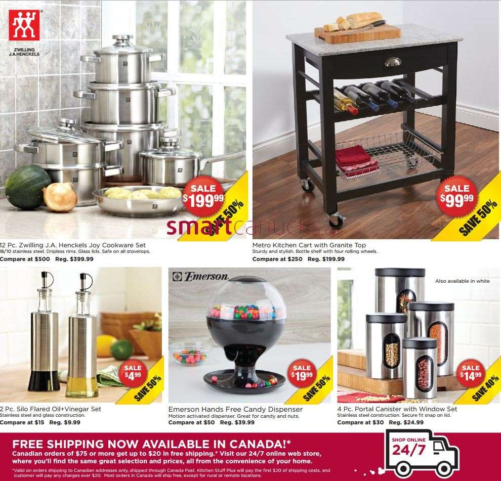 Kitchen Stuff Plus Flyer October 31 To November 10