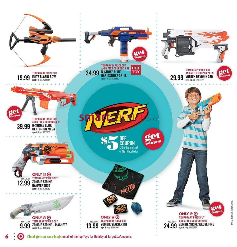 Target Toy Book 2013 : Target toy catalogue nov to