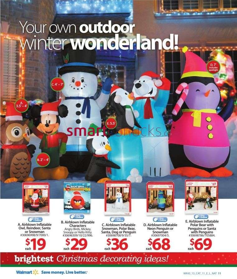 view single - Christmas Inflatables At Walmart