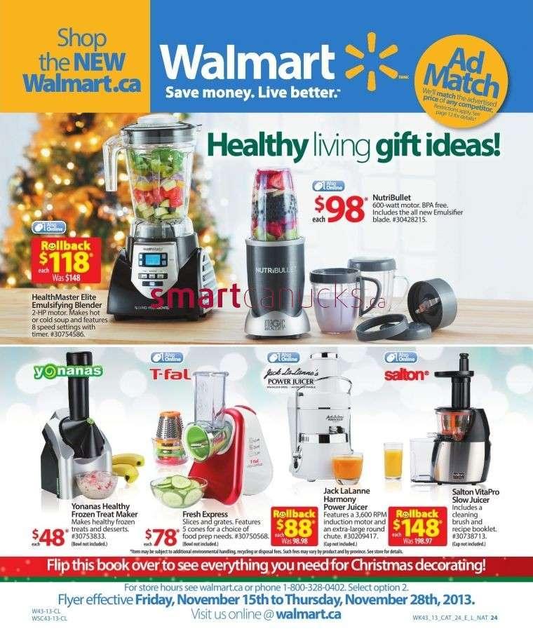 Walmart Christmas Catalogue November 15 to 28