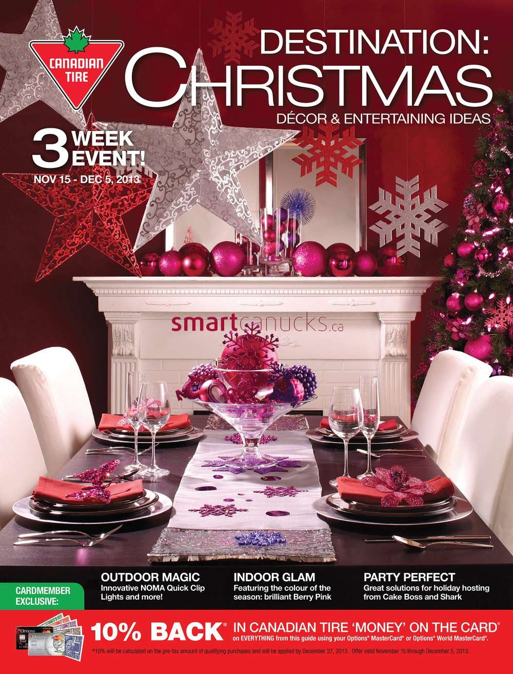 home decor online stores canada canadian tire christmas catalogue november 15 to december 5 12345