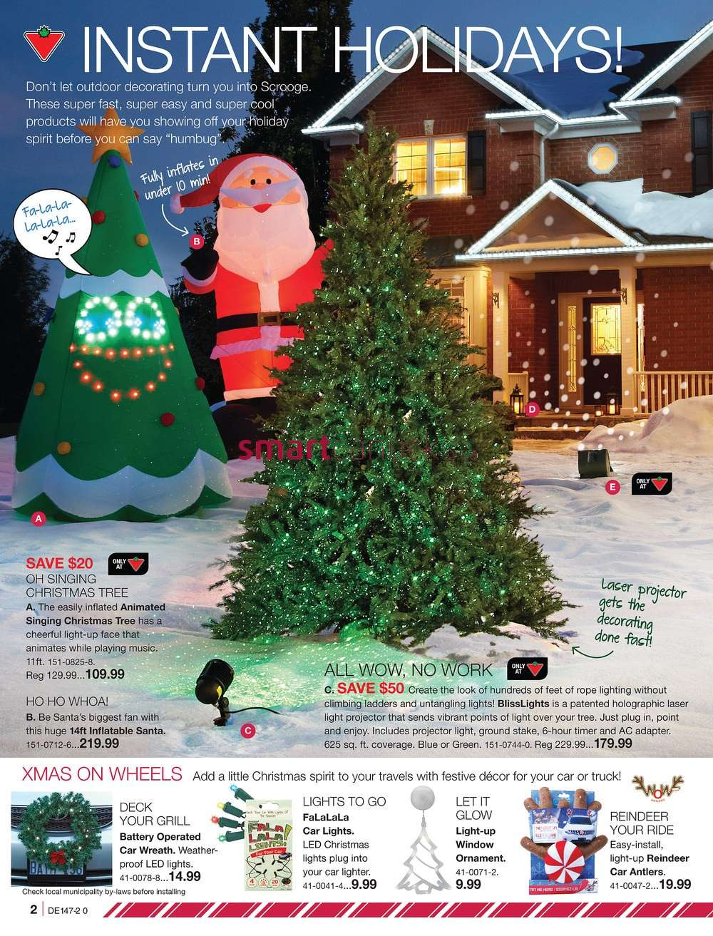 Outdoor Lighted Tree Canadian Tire Outdoor Lighting Ideas
