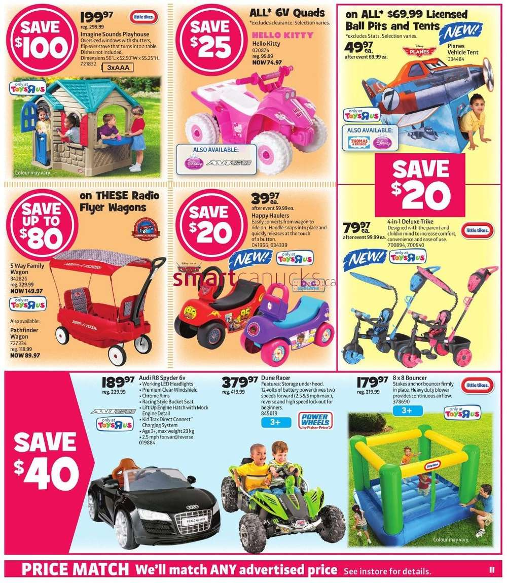 R Flyers Toys R Us flyer Novemb...