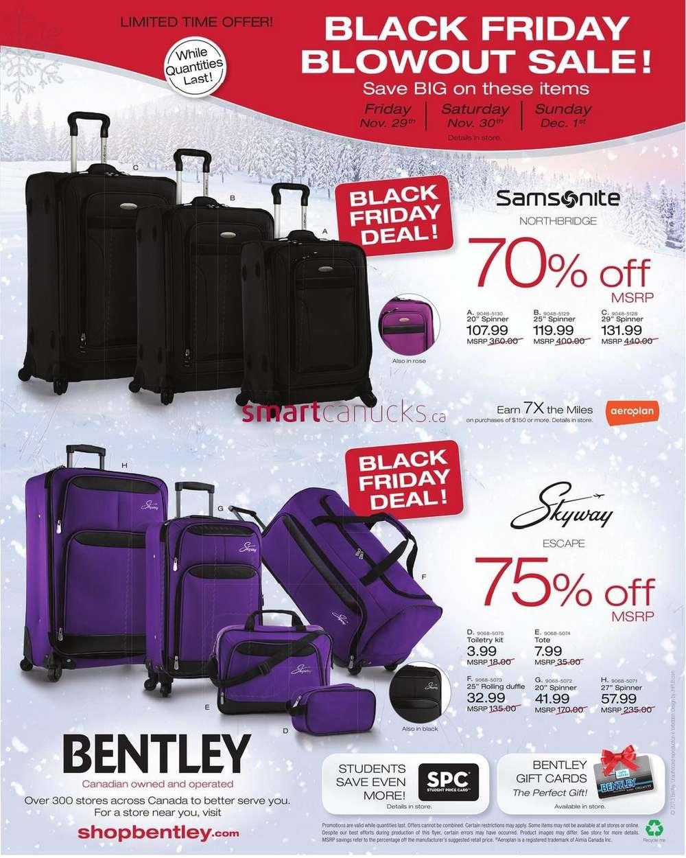 Bentley Black Friday Deals November 29 To December 1