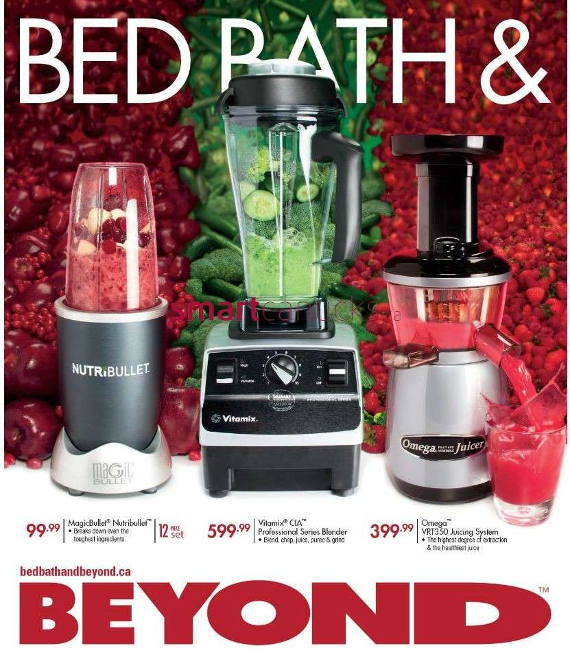 bed bath & beyond flyer november 25 to december 24