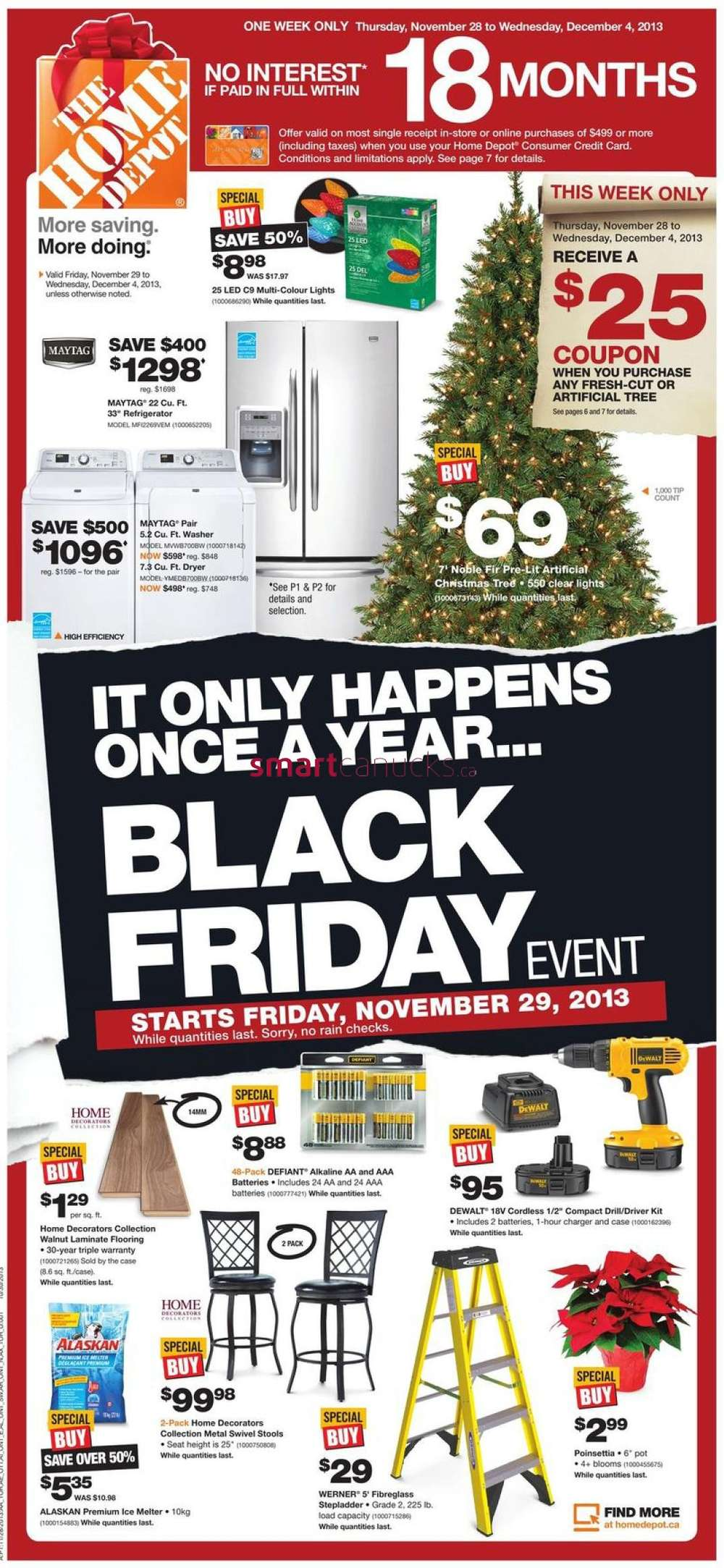 Home Depot Canada Black Friday