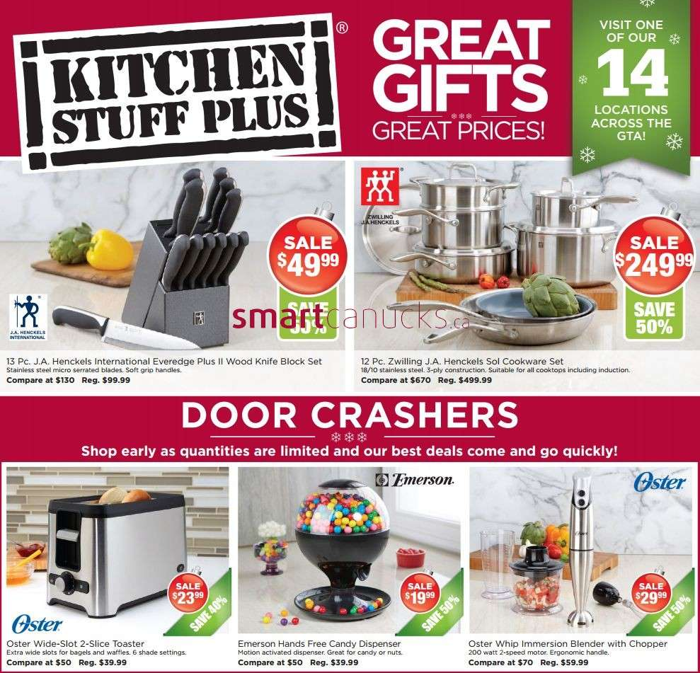 Kitchen Stuff Plus is a enjoyable place to work especially as a first job. The staff there are very nice and welcoming and you grow as people together. There is lots to /5().