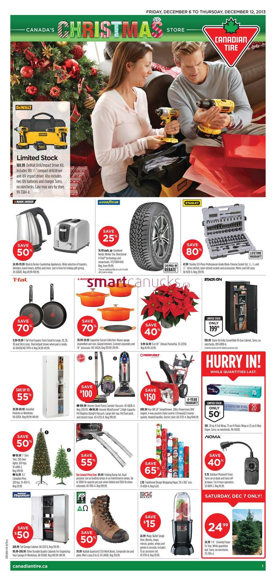 Canadian Tire flyer December 6 to 12
