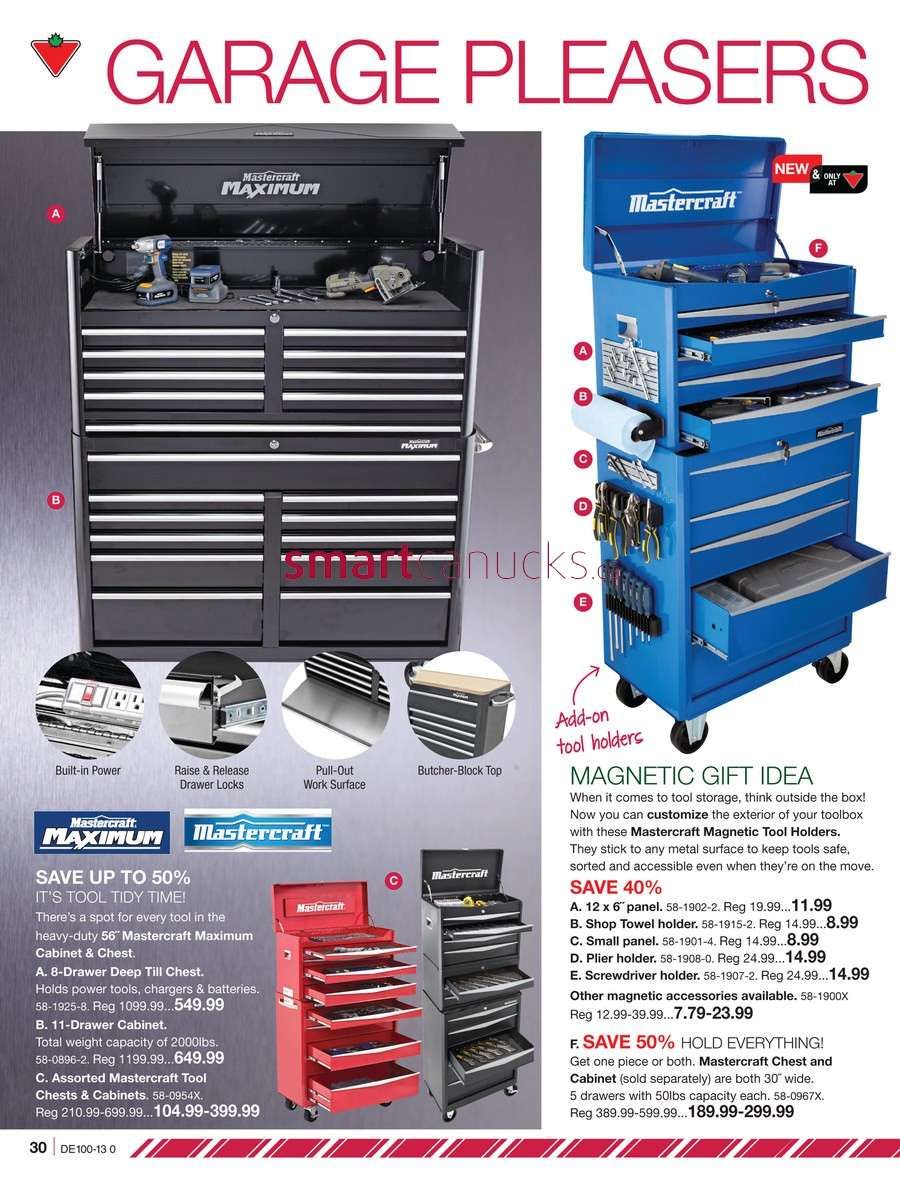 Canadian Tire Christmas Catalogue Friday, December 6 to Tuesday