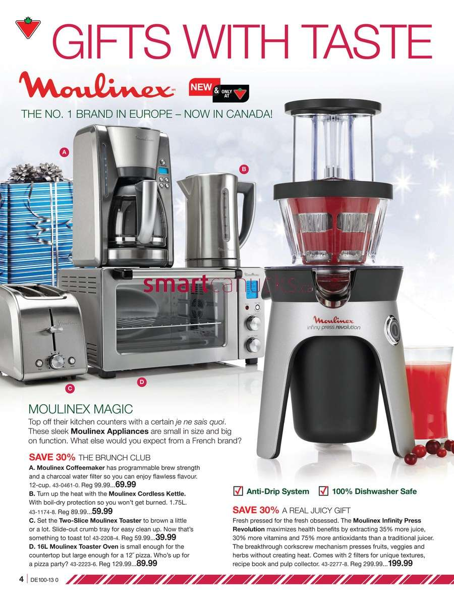 Uncategorized Canadian Tire Kitchen Appliances canadian tire christmas catalogue december 6 to 24 24