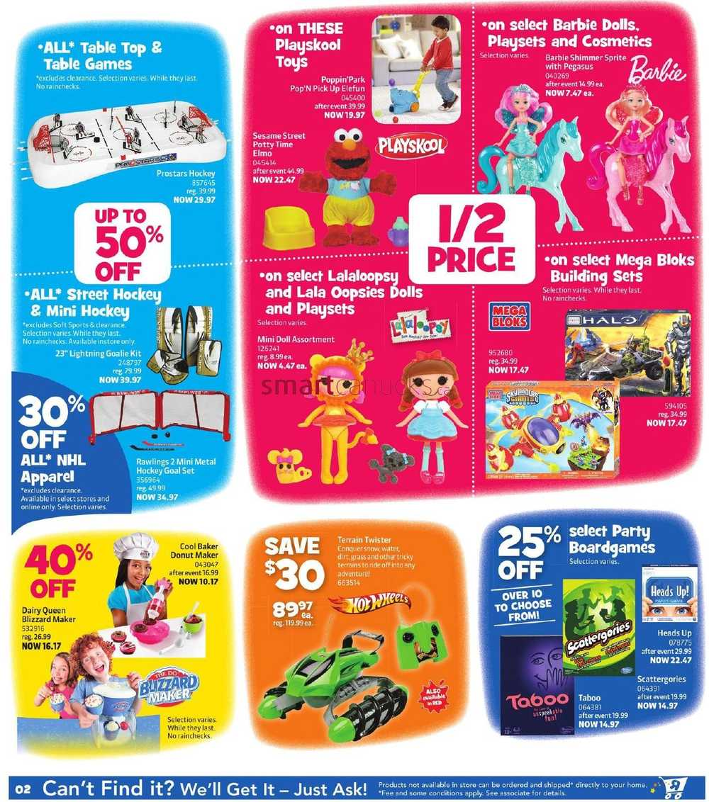 Toys R Us Flyer : Toys r us boxing day flyer december to
