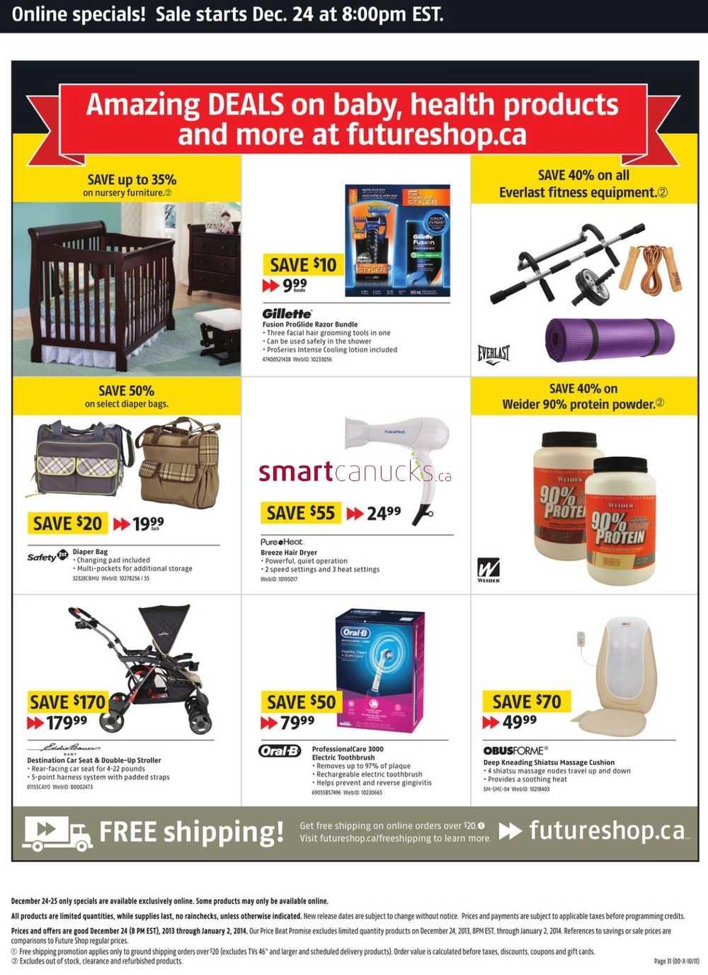 Boxing day deals future shop canada