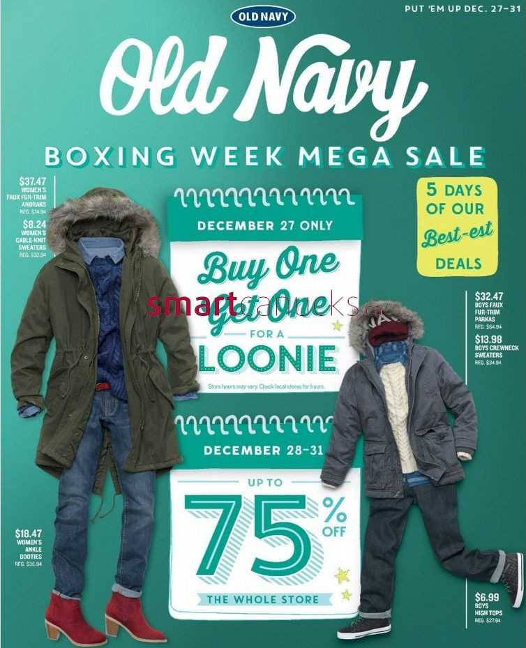 For the Best Boxing Day Deals, Visit abegsuble.cf Whether you are looking for clothing that offers casual comfort or trend setting style, you will find it at Old Navy's Boxing Day sales event. Some of our best Boxing Day deals include t-shirts, polos, shorts, and jeans.