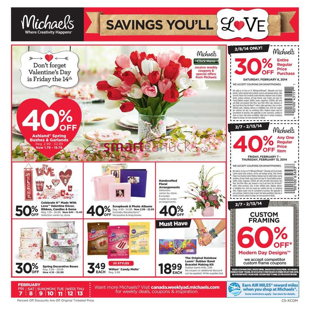 michaels weekly ad michaels arts and crafts edmonton