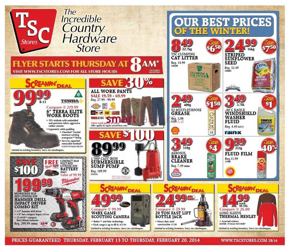 TSC Stores flyer February 13 to 20